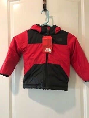 c99630561 THE NORTH FACE TODDLER BOYS REVERSIBLE TRUE OR FALSE JACKET TNF Red
