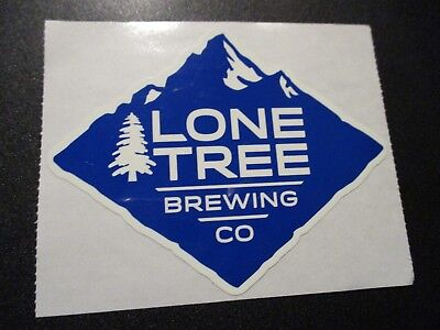 LONE TREE BREWING CO Colorado Peach Pale Ale STICKER decal craft beer brewery