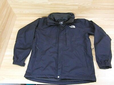 """The North Face HyVent Jacket With Hood Black Mens Size Large Chest 50"""""""