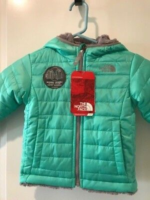 cfddd23ea86a The North Face Toddler Girls Reversible Mossbud Swirl Fleece Jacket Msrp   90.00