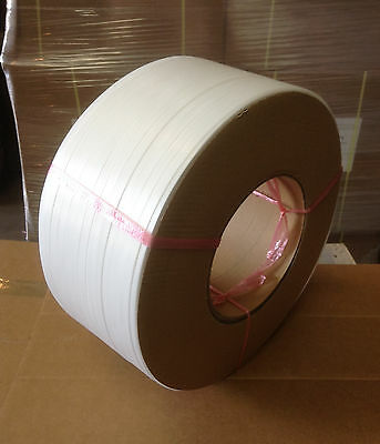 "Polypropylene Strapping 1/2"" machine grade  (2 rolls)"