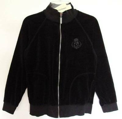 Juicy Couture Boys/Girls Black Velour Jacket (10) NWT