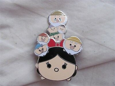 Disney Trading Pins  107455 Tsum Tsum Slider Series - Snow White And The Seven D