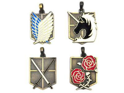 CoolChange Attack on Titan Box containing a collection of pendants : scouting
