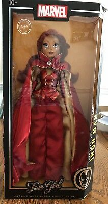 "Madame Alexander Exclusive Marvel Doll Collection ""IRON MAN"" Fan Girl Variant"
