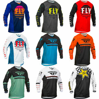 2019 Fly Racing Adult Kinetic Motocross Dirt Bike Jersey - Pick Size/Color