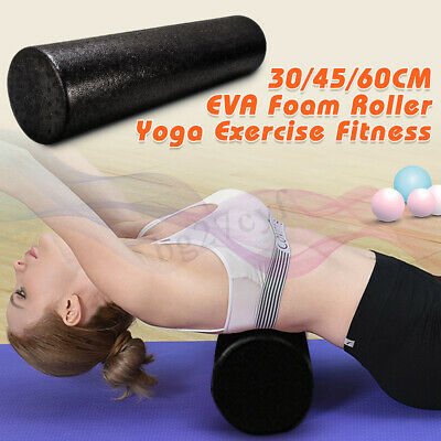30/45/60CM EPP Yoga Foam Roller Muscle Massage Fitness Gym Pain Relief Stretch