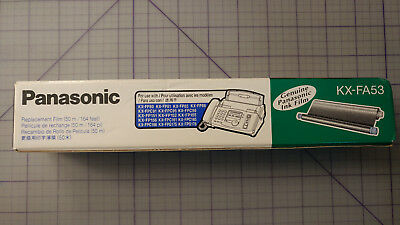 Genuine Panasonic KX-FA53 Replacement Fax Ink Film
