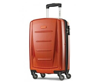 "Nwt Samsonite Winfield 2 Fashion Hardside Spinner Carry On 20"" Suitcase Orange"