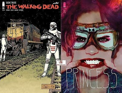 WALKING DEAD #184 Cover Set (A & Sienkiewicz) - PRESALE