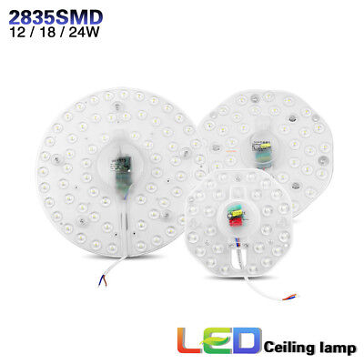 Dimmable Epistar Recessed 12W 18W 24W 2835 SMD LED Panel Light Ceiling Down 220V