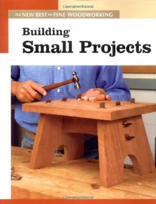 Fine Woodworking-Building Small Projects  (UK IMPORT)  BOOK NEW