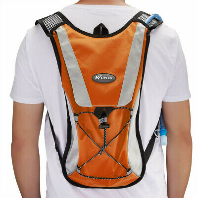 144cdfa412 KUYOU Hydration Pack Water Rucksack Backpack Bladder Bag Cycling Bicycle  Pouch