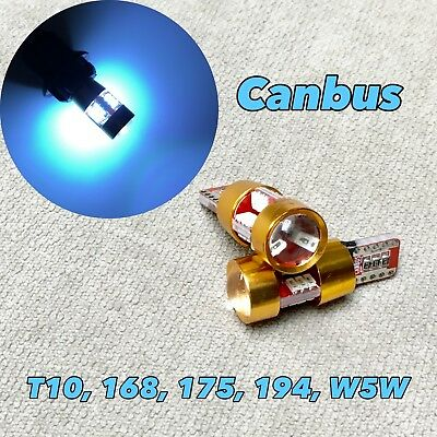 Parking Light T10 SMD LED bulb No Canbus Error w5w 168 194 12961 2825 for BMW Mi