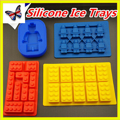 Cake Soap Shape Ice Bricks Cube Silicone Tray Mould Fridge Freezer Cute Hot New