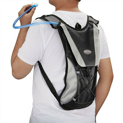 8883f30b7f KUYOU Hydration Water Rucksack Pack Backpack Bladder Bag Cycling Bicycle  Pouch