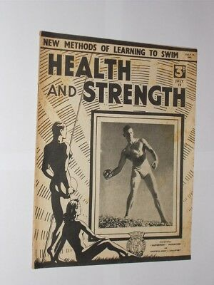 Health And Strength Magazine July 19th 1941. Vintage Bodybuilding/Exercise.