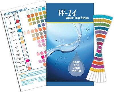 14 in 1 Drinking Water Test Kit x 10 (Fast Free Delivery)