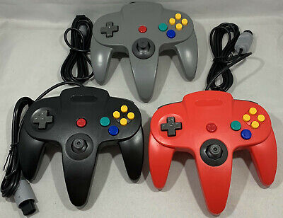 Controller Gamepad For The Nintendo 64 Choice Of Colors - N64