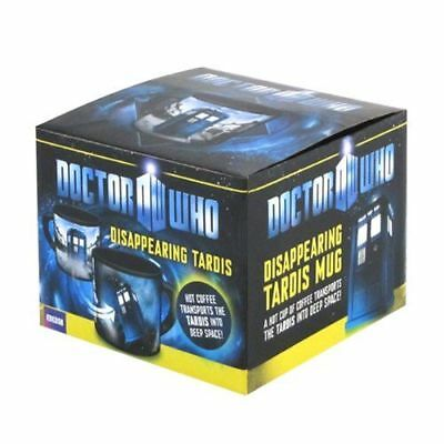 Dr. Doctor Who Disappearing Tardis Heat Changing Coffee Ceramic Mug New in Box