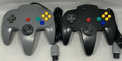 2 X Controller Gamepad For The Nintendo 64 Choice Of Colors - N64