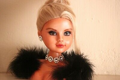OOAK Custom Doll Repaint | Lady Morgan | Real Housewives | Sonja Morgan