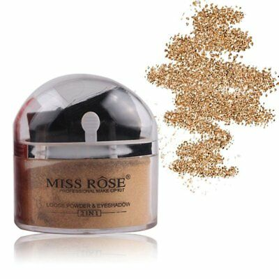 Women Facial Makeup Loose Powder Glitter Loose Powder Highlighter Eyeshadow O5