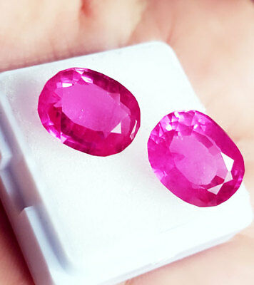 Loose Gemstone 7 to 8 Cts Natural Pink Sapphire Certified