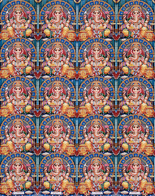 ॐॐॐ GANESHA GLYTT ॐॐॐ  blotter art ॐ psychedelic goa acid artwork