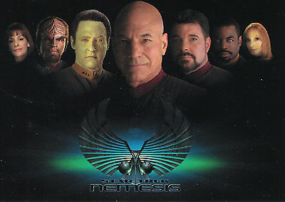 Star Trek: TNG Nemesis 2002 Trading Card Set (72 Cards)