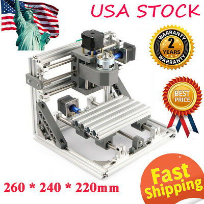 Mini 3-Axis CNC 1610 Router Engraver DIY Carving Machine for PCB PVC Milling