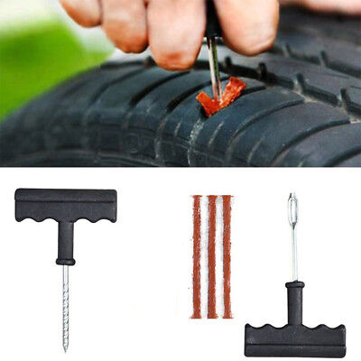 6Pcs/Set Car Flat Tire Repair Plug Kit for Car Truck Bike DIY Patch Tubeless CHK