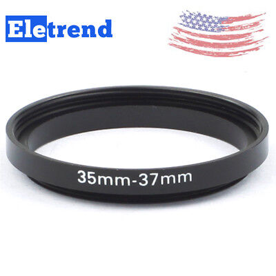 FREE SHIP 35-37mm Step-Up Metal Adapter Ring / 35mm Lens to 37mm Accessory US