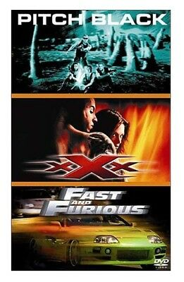Coffret 3 Dvd Film Occasion ~ Pitch Black ~ Xxx ~ Fast And Furious