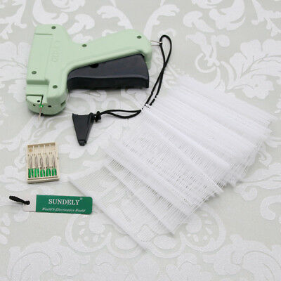 Tagging Tag Gun +5 Steel Needle +1000 Barbs Kimble Price Label For Clothes Sock