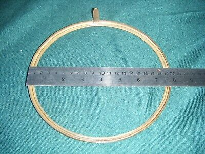 Antique/Vintage Clock Brass Bezel 20 cms