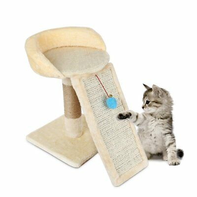 Pet Cat Board Scratching Post Tree Play Kitten Climb Scratch Stand Toy M64  OY