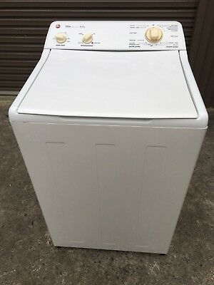 washing machine top loader Hoover 4.5 KG