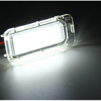 2x LED Xenon White For Ford Fiesta Focus Galaxy Number License Plate Light Lamp