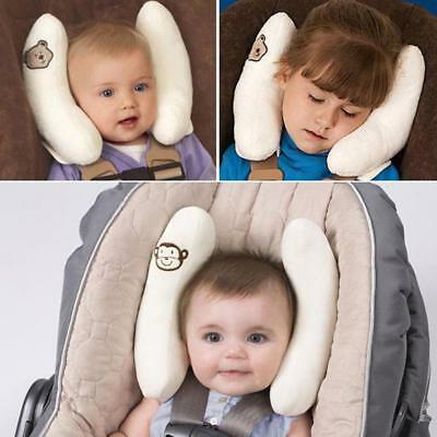 Child Head Neck Support Baby Car Seat Pillow Trolleys Adjustable Kids Care