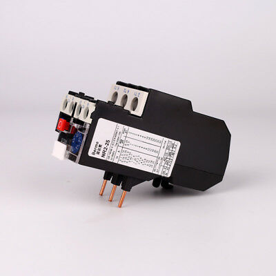 Current Range Protection Thermal Overload Relay 3 Pole 1-25A Adjustable 1NO 1NC