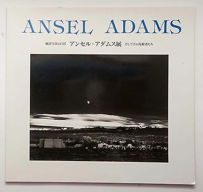 Ansel Adams Exhibition Photo book w/ Flyer the photo master of landscape 1993