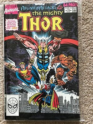 THOR (Marvel Comics) ANNUAL # 14 (1989) - NM