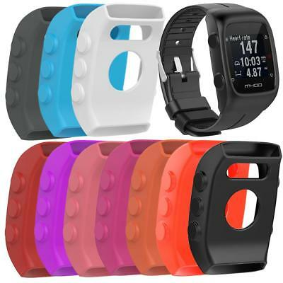 Silicone Frame Case Cover Housing Shell Protector For POLAR M400 M430 Smartwatch