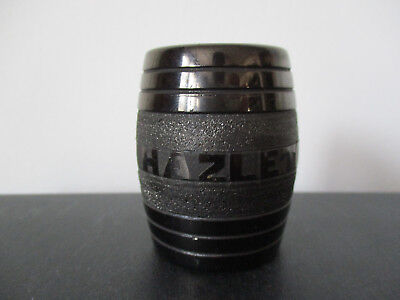 Souvenir Toothpick Holder Made of Coal Hazelton Pennsylvania #252