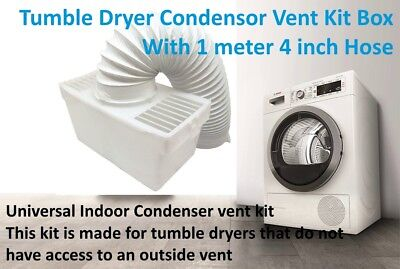 CROSSLEE Tumble Dryer Vent Hose free fitting video 4 inch x 2.5 meter