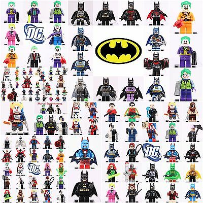 2019 Dc comics Batman Joker Harley Quinn Superhero Set Mini figure fit Lego