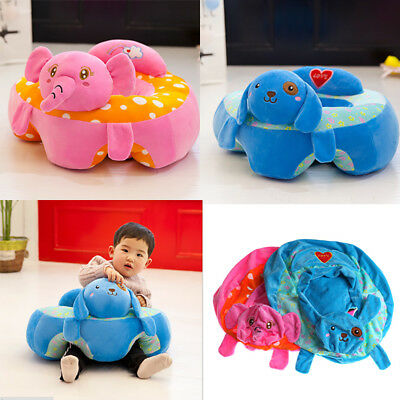 Baby Sofa Support Seat Learning To Sit Baby Plush Toys Without PP CottonFiller F