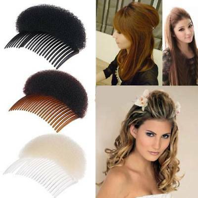 Bun Maker Women Styling Tool Hair Styling Bump It Up Volume Hair Base Clip Stick
