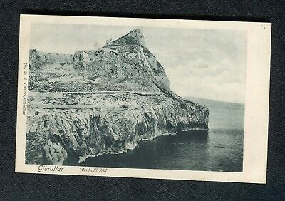 c1910 View: Windhill Hill, Gibraltar